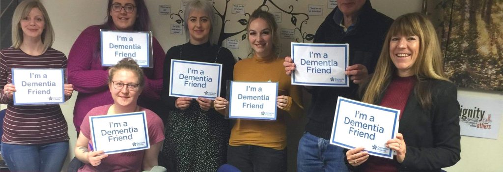 Dementia Friends Information Session 7th March 2019