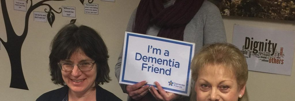 Dementia Friends Information Session 4th April 2019